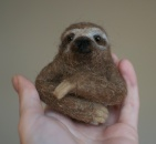 Sloth wall hanging