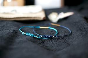 Pretty pretty handmade bracelets by Nugget Says