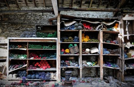 Abandoned yarn since 1980