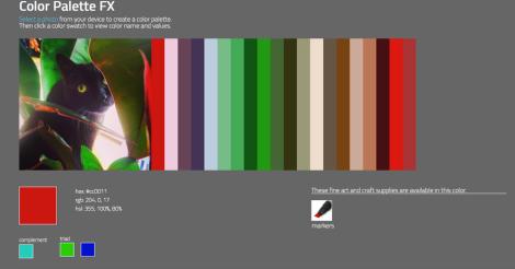 Squish palette