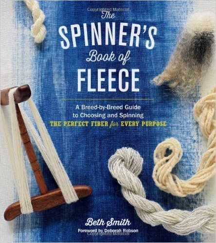 spinners book of fleece cover