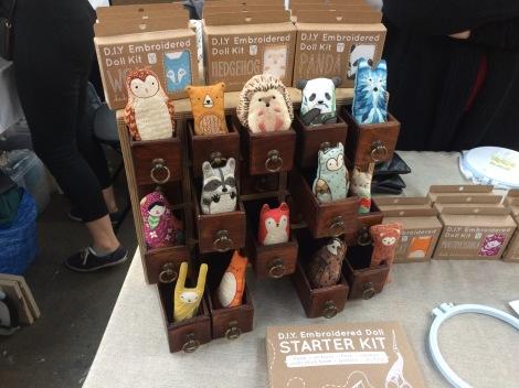 market stall III