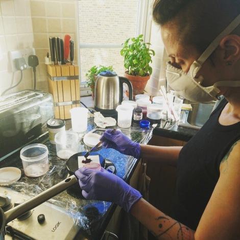 Making Dyestock